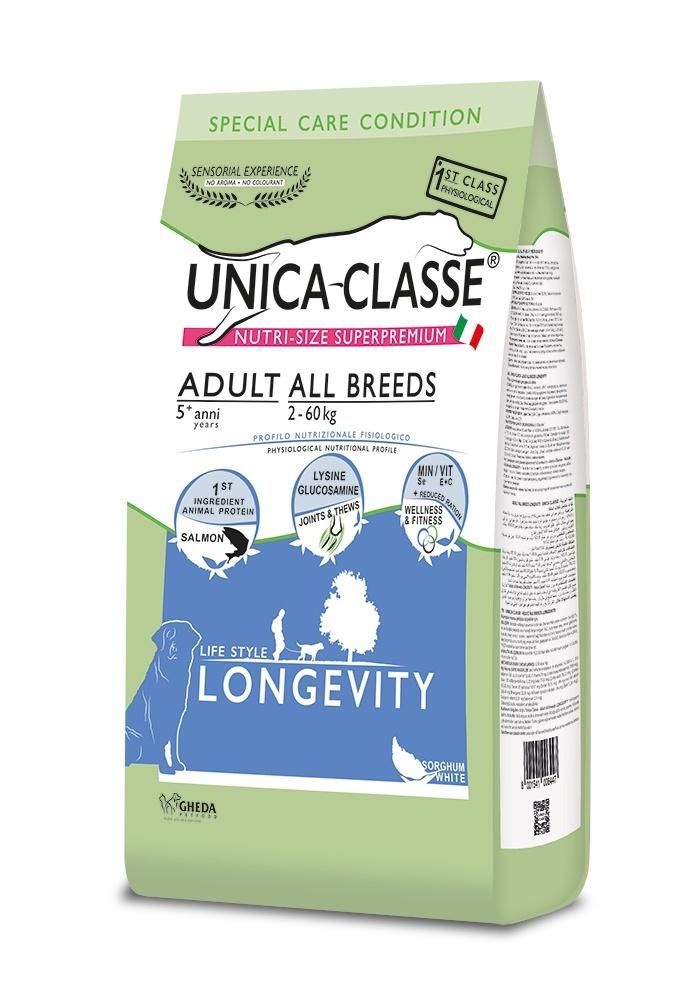 UNICA CLASSE Longevity Adult All Breeds Salmon 12 kg