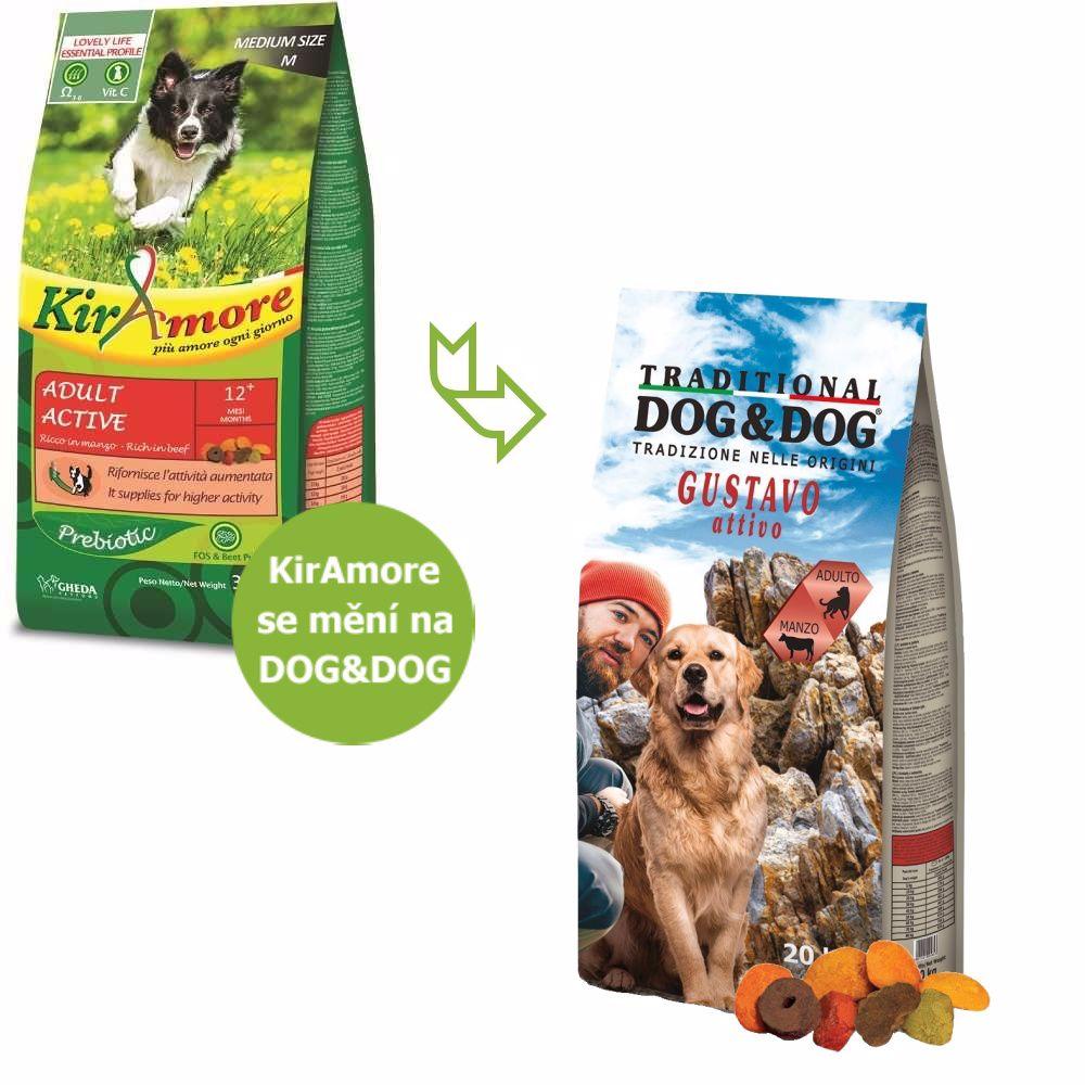 Dog&Dog Gustavo Active Beef 20 kg