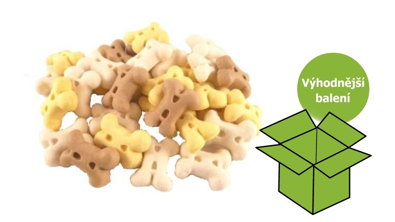 KOSTIČKY-PUPPY MINI vanilkové- sušenky 10kg