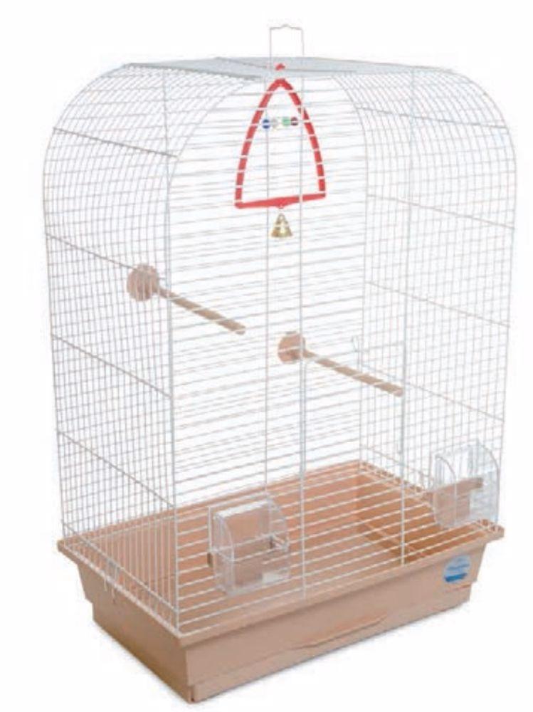 Klec pro ptáky Aurika s výbavou 44 x 27 x 64 cm