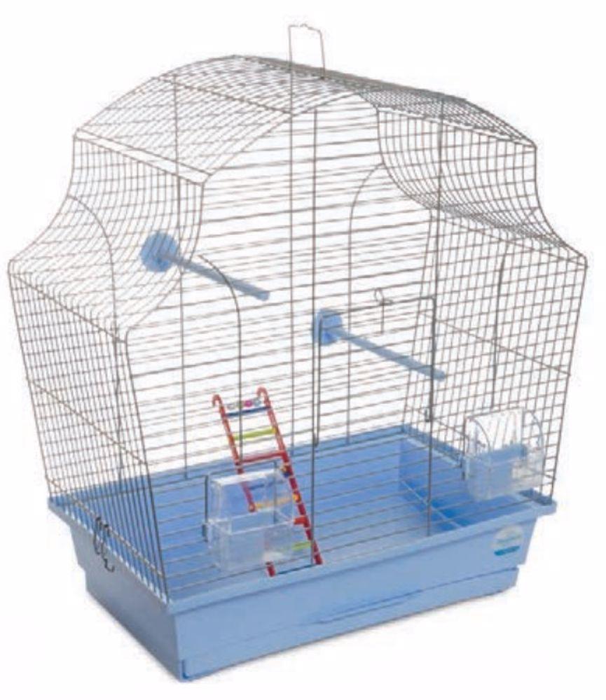 Klec pro ptáky Merry s výbavou 44 x 27 x 54 cm