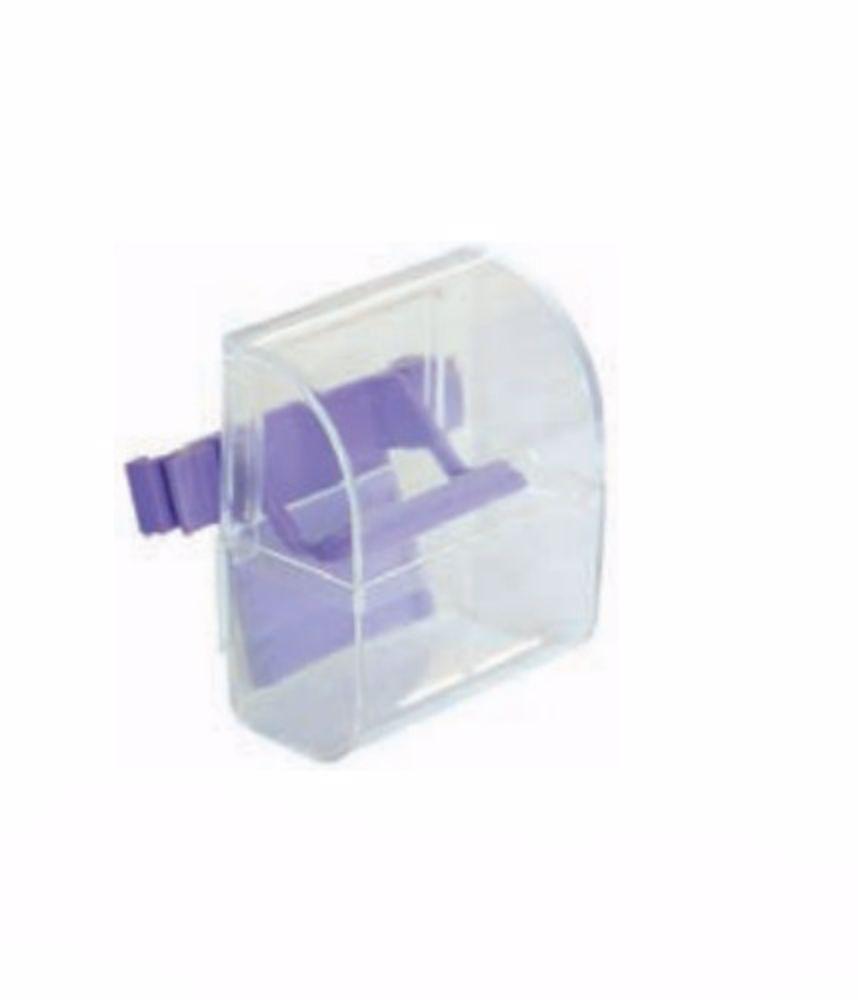 Krmítko do klece transparentní 75 ml