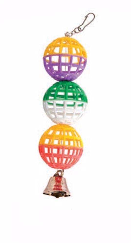 Tři koule se zvonečkem 22 cm
