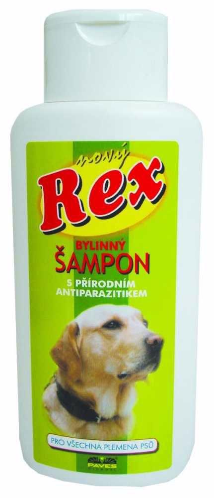 REX šampon pro psy bylinný 250ml-ZELENÝ -1648