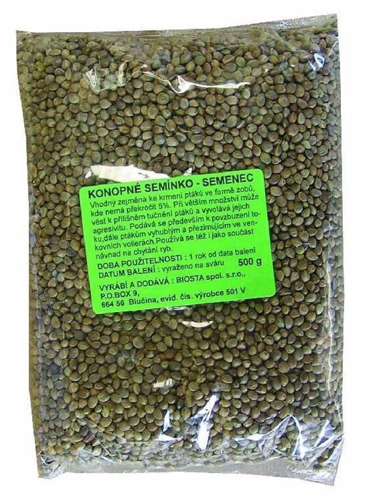 Konopné semínko 500g-2010