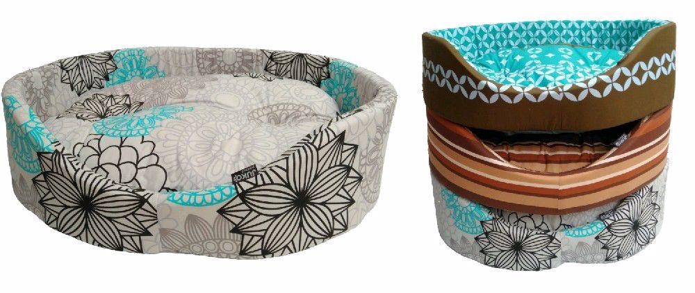 Pelíšek molitan  č.7-72x60x23cm-3602 různé dekory