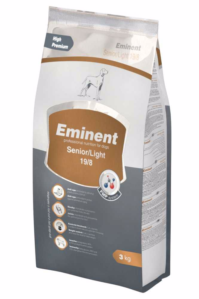 Eminent dog SENIOR & LIGHT  3kg-3764