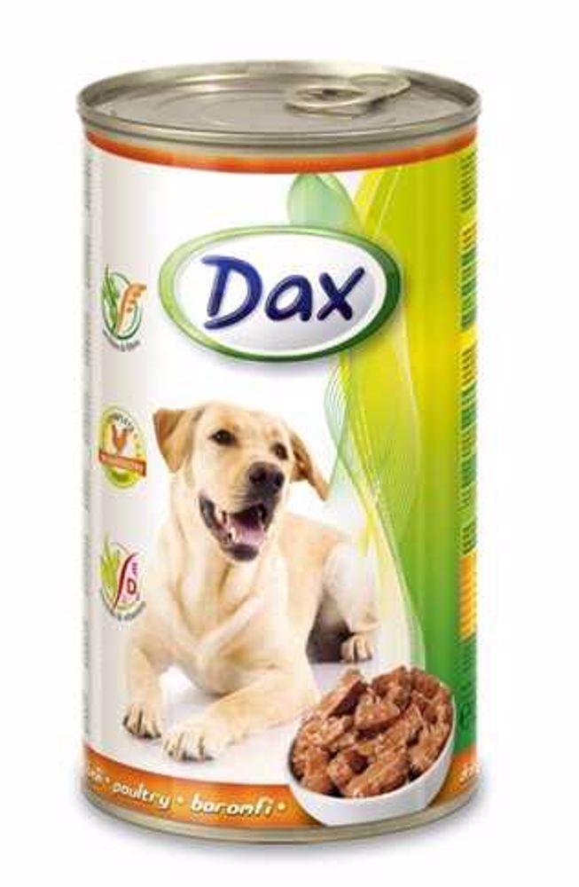 Dax Dog kousky drůbeží 1240 g