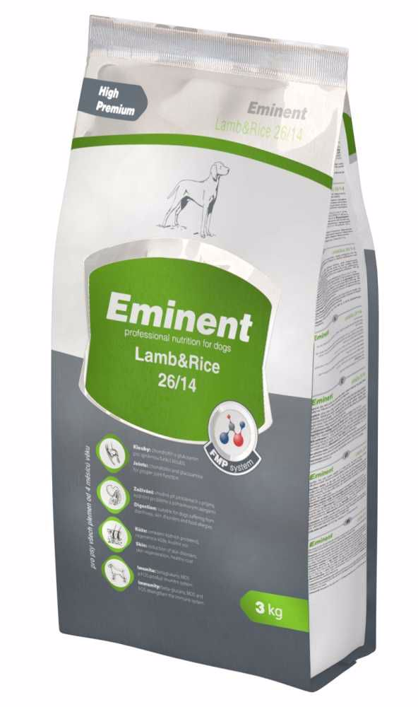 Eminent dog LAMB & RICE   3kg-6479