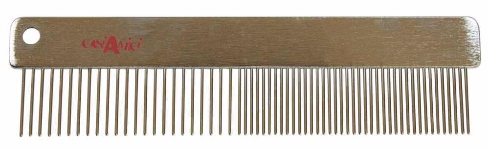 Hřeben kovový VANITY-4x15,7cm-7418C