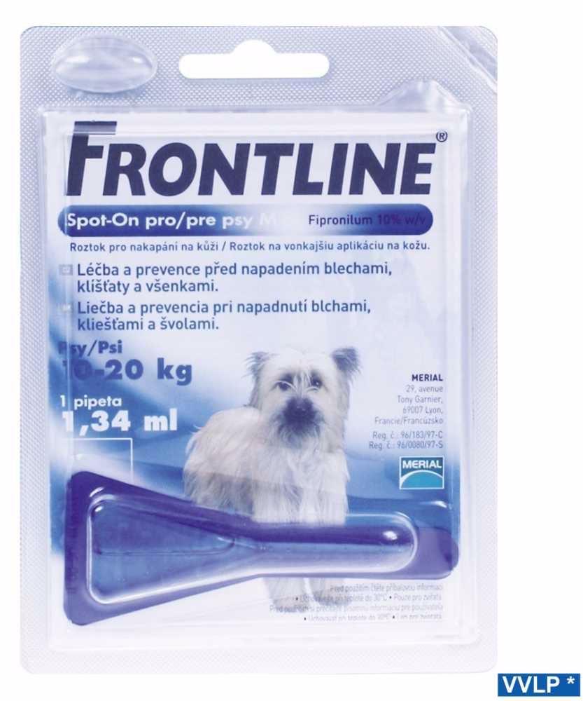 a.Frontline Spot-on DOG-M-10-20kg-7061