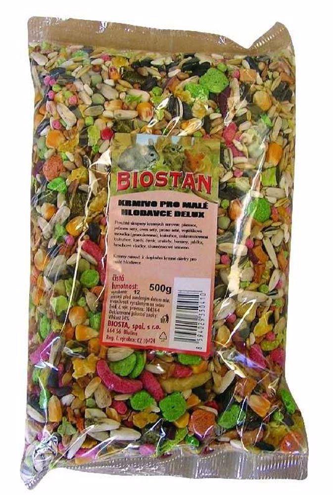 BIOSTAN  HL-DELUXE  pro hlodavce  500g-7631