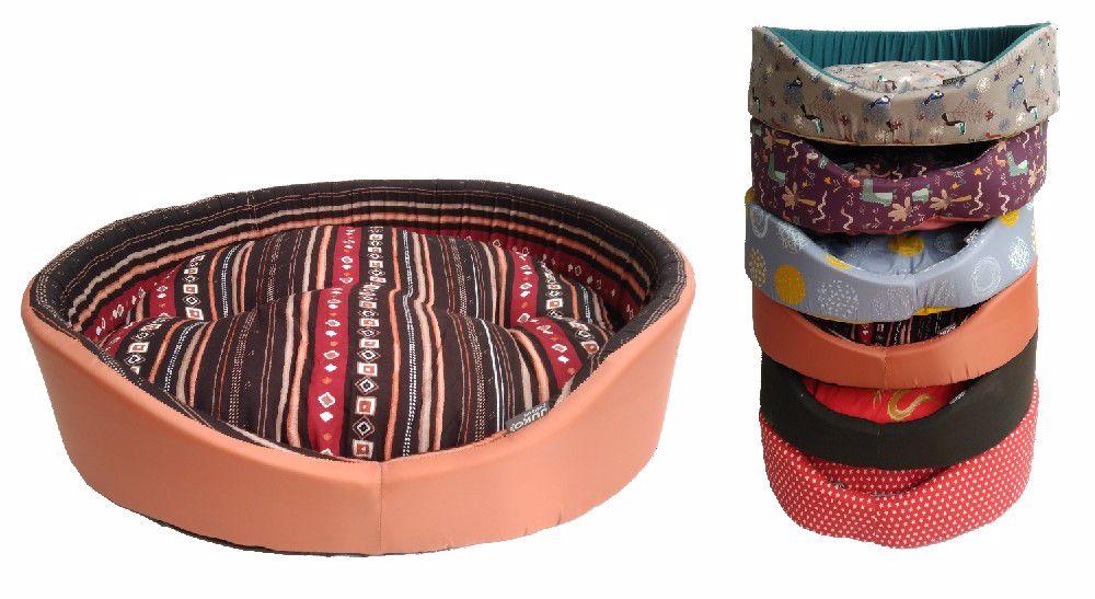 Pelíšek molitan  č.6-66x54x20cm-7799 různé dekory