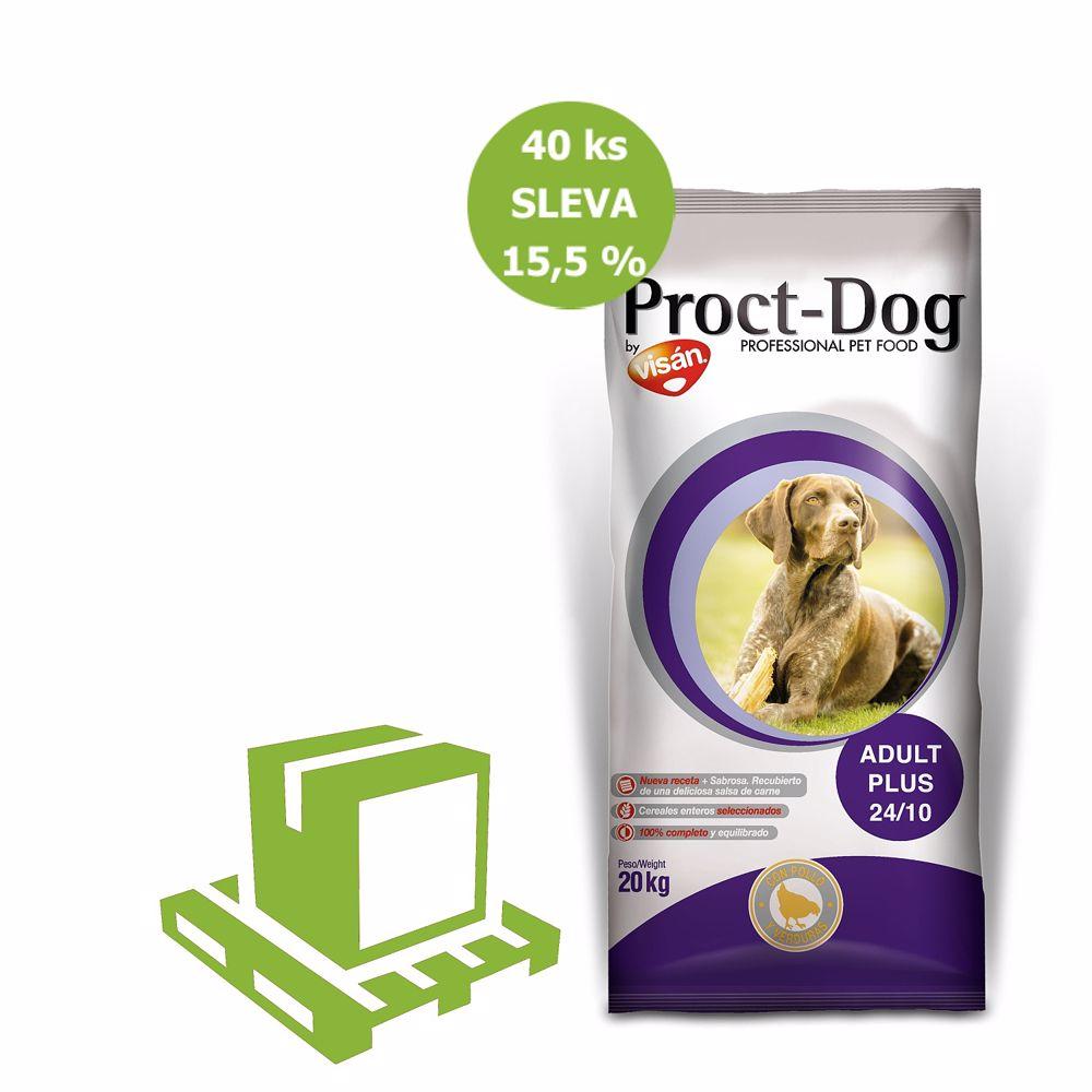 PROCT-DOG Adult PLUS 10kg-paleta 40ks-7989-SLEVA15,5%-Z