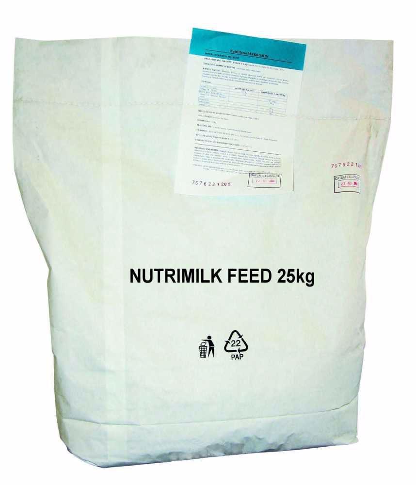 Nutrimilk feed - mléko pro hospodářská zvířata 25 kg