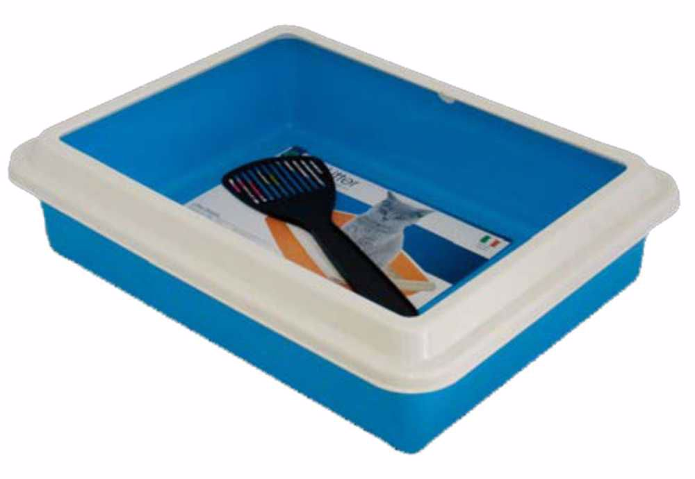 WC MAX s okrajem 43,5x34xh11cm+lopatka-10551IT