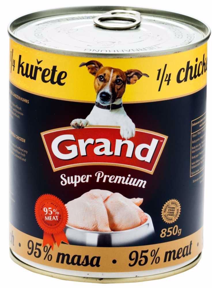 GRAND superpremium 1/4 KUŘETE 850g-341