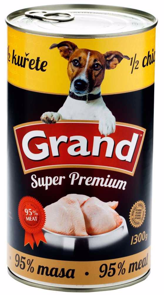 GRAND superpremium 1/2 KUŘETE 1300g-811