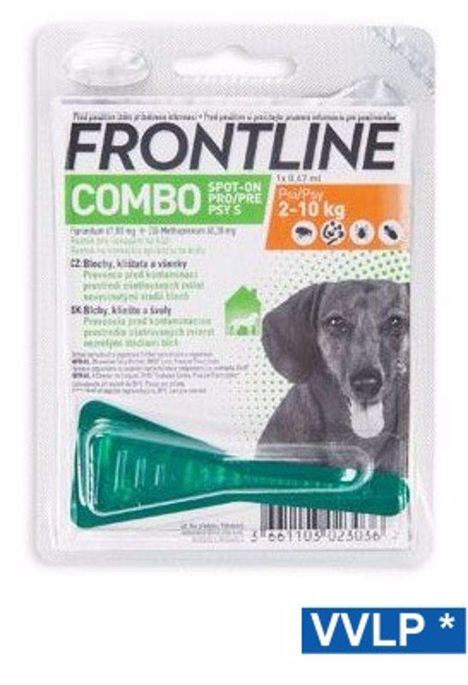 a.Frontline COMBO Spot-on DOG-S-do 10kg-8757