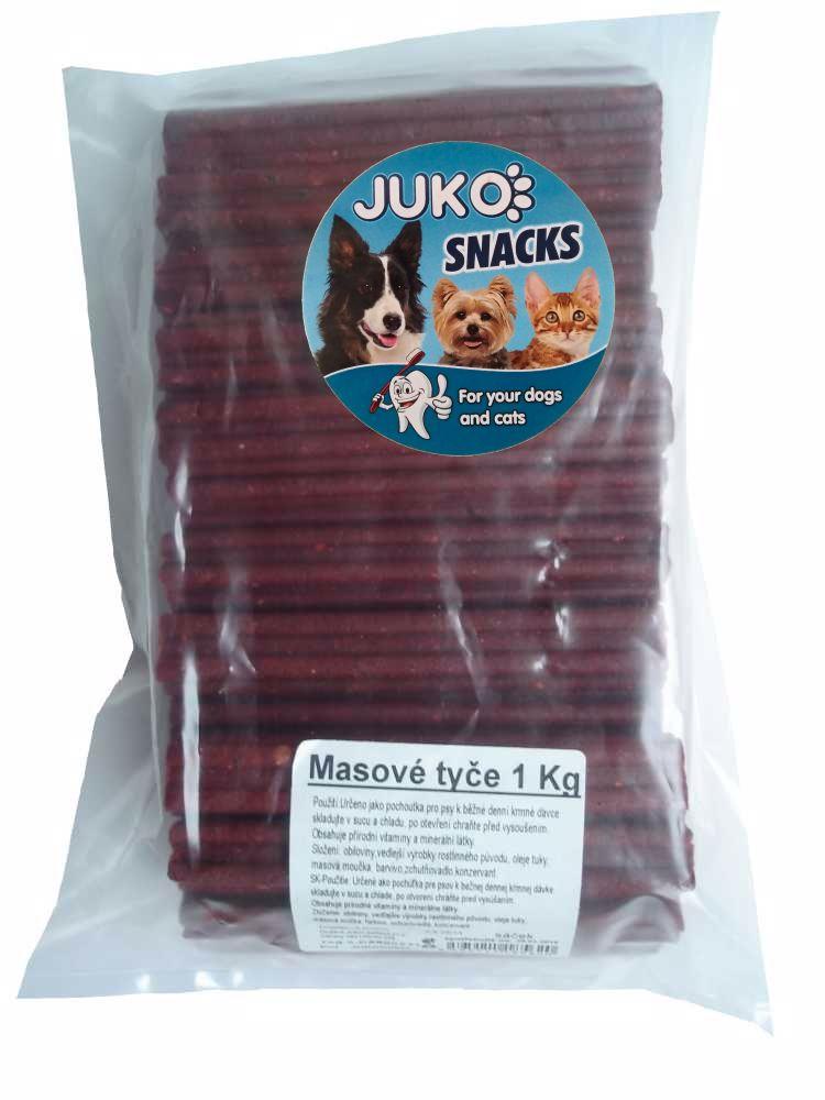 MASOVÉ TYČE 1kg cca 30ks SMARTY snack-8889