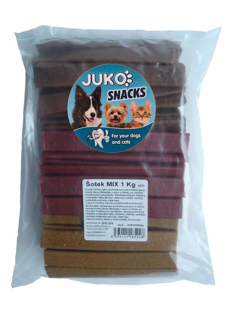 ŠOTEK MIX 1kg cca 120-138ks SMARTY snack-8890