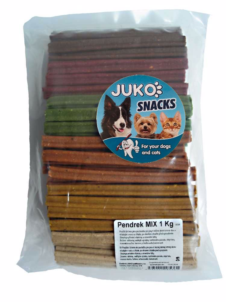 PENDREK MIX 1kg cca 100-123ks SMARTY snack-8892