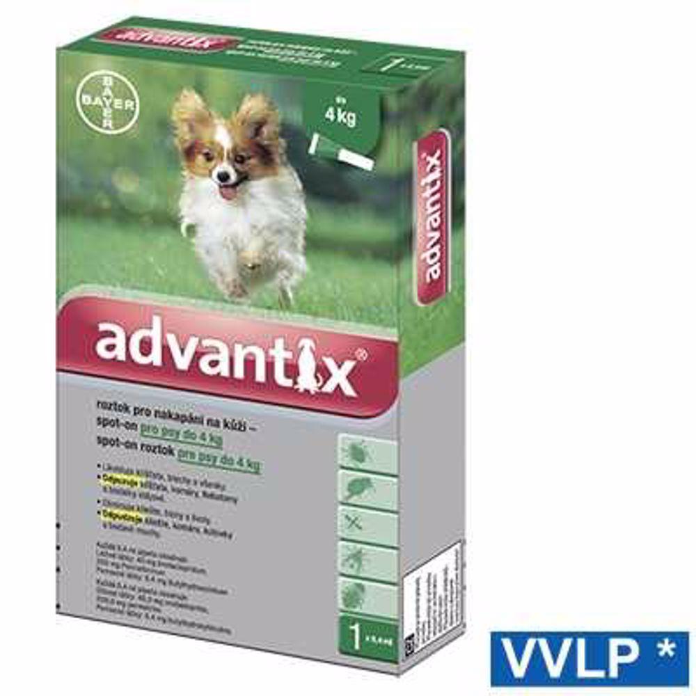 Advantix spot-on pes do 4 kg 1x0,4 ml