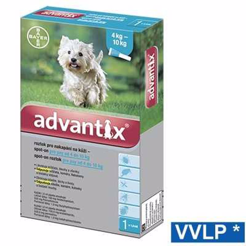 a.ADVANTIX spot-on dog  4-10kg 1x1ml-8942