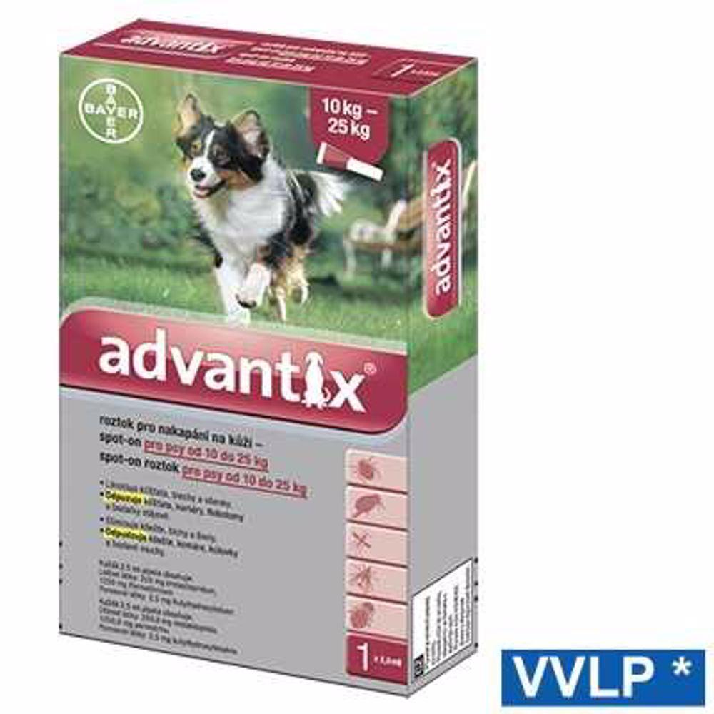 a.ADVANTIX spot-on dog 10-25kg 1x2,5ml-8943
