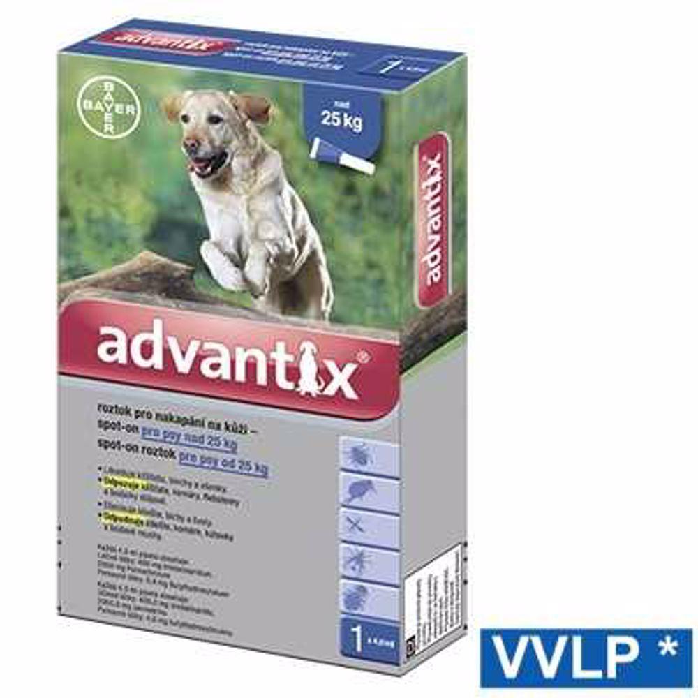a.ADVANTIX spot-on dog nad 25kg 1x4ml-8944
