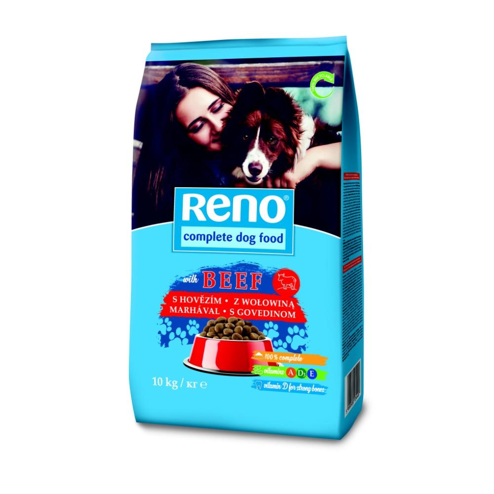 RENO granule DOG 10kg hovězí+drůbeží-9190