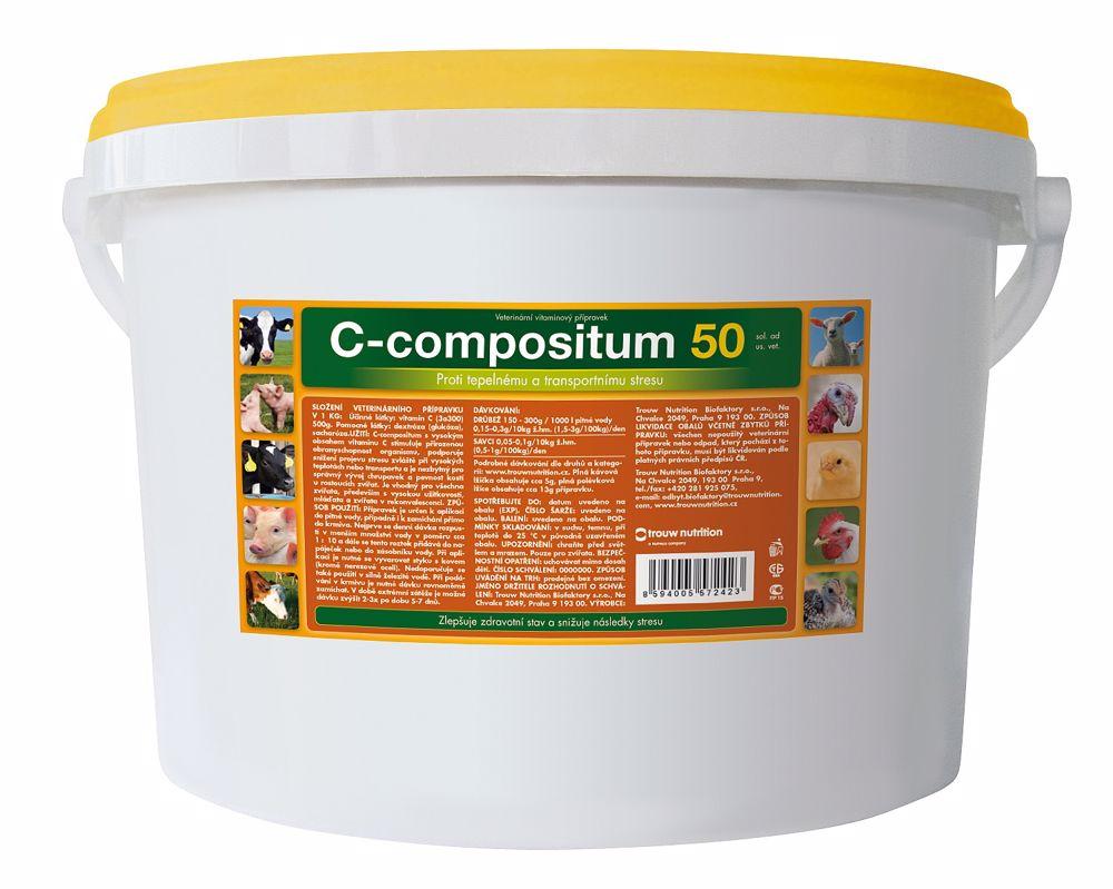 Vodorozpustný C Compositum 500 g