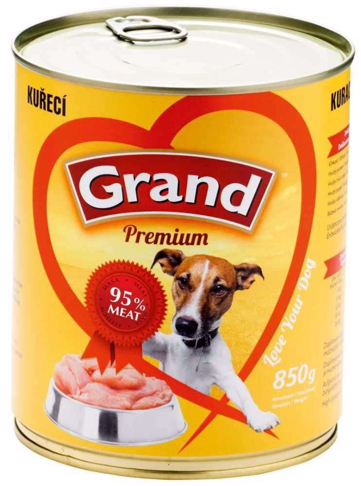 GRAND premium KUŘECÍ 850g-342