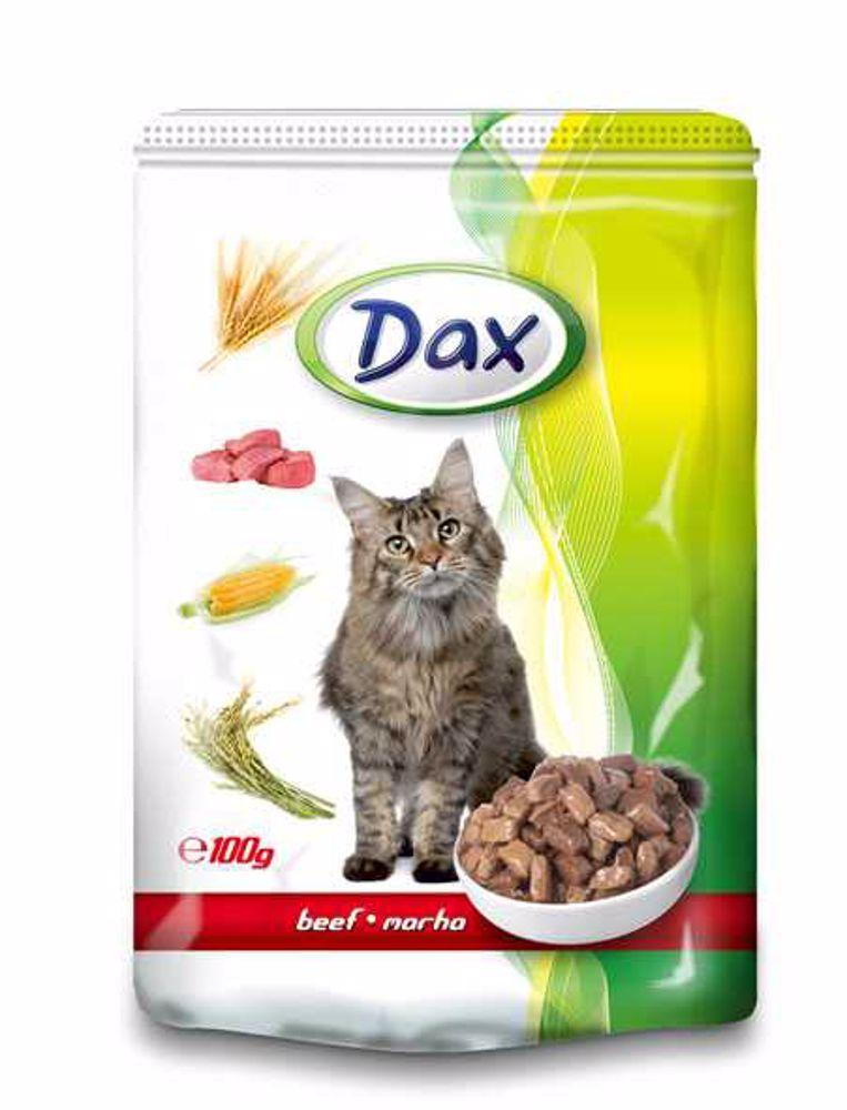 DAX kapsa CAT HOVĚZI 100g-9434-!CZ!