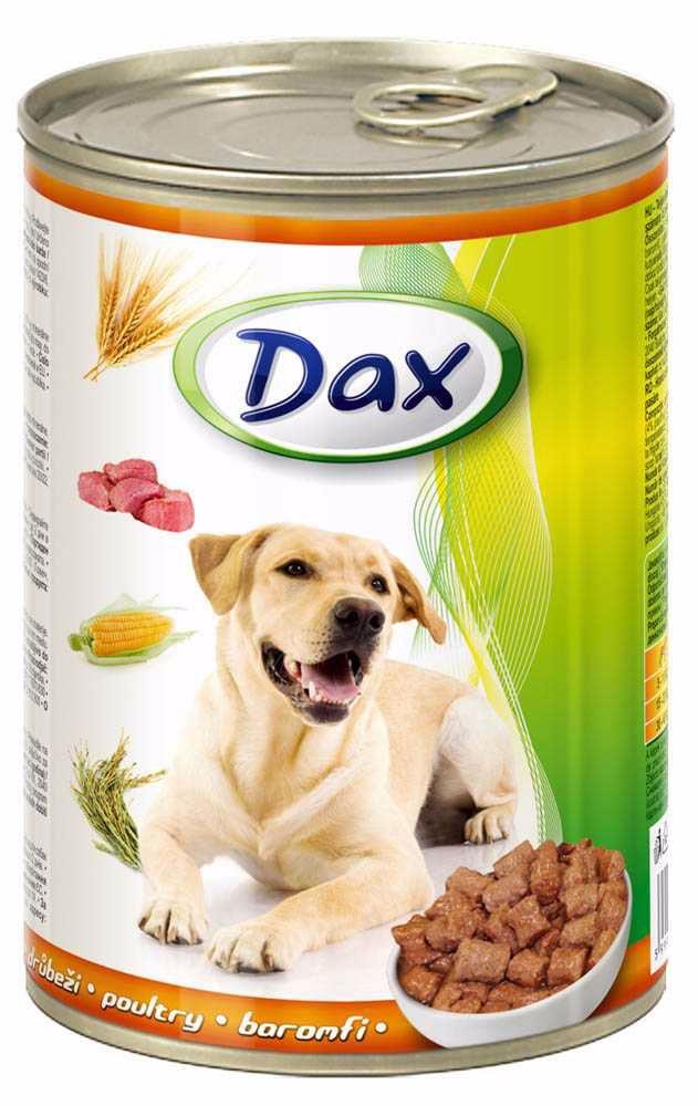 Dax Dog kousky drůbeží 415 g