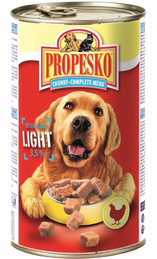 PROPESKO Dog Light, kousky 1240 g