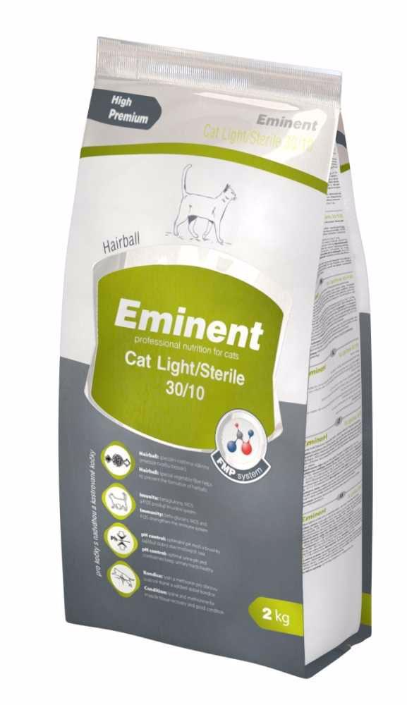 Eminent Cat Light/Sterile 2 kg