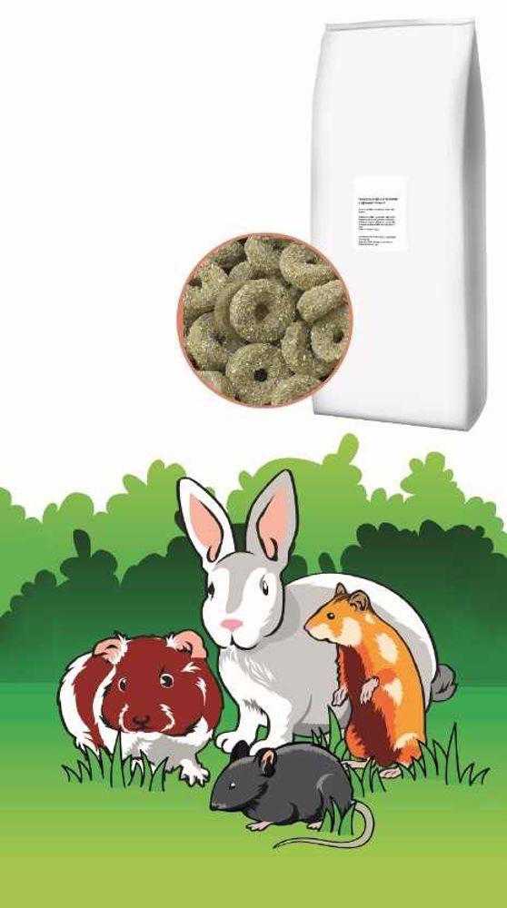 Vojtěškové kroužky králík a hlodavec 12 kg