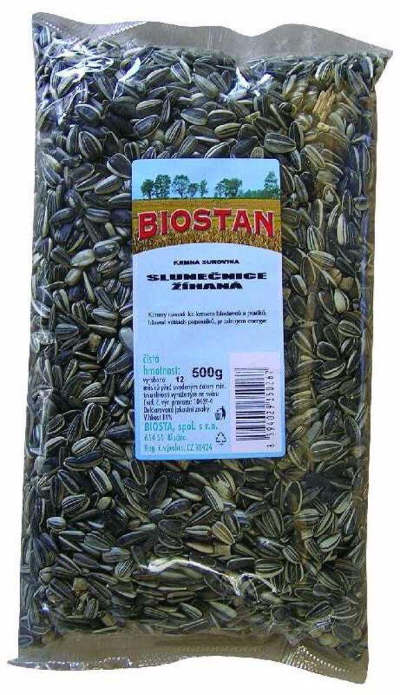 Slunečnice žíhaná Biostan 500 g