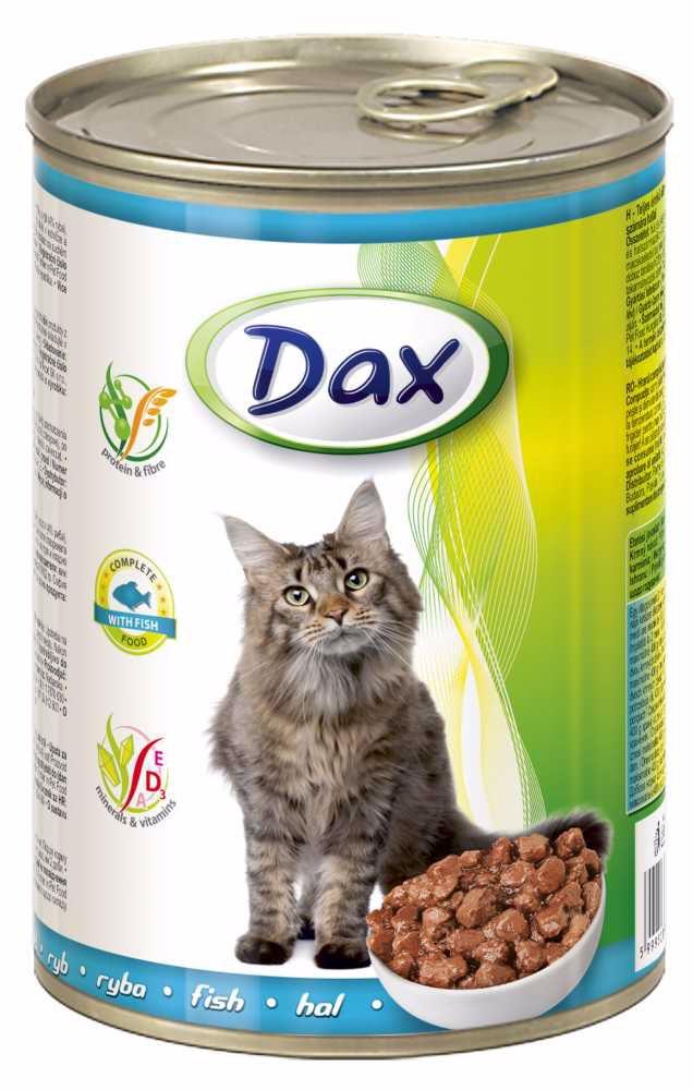 DAX  kousky CAT RYBA  415g-9941