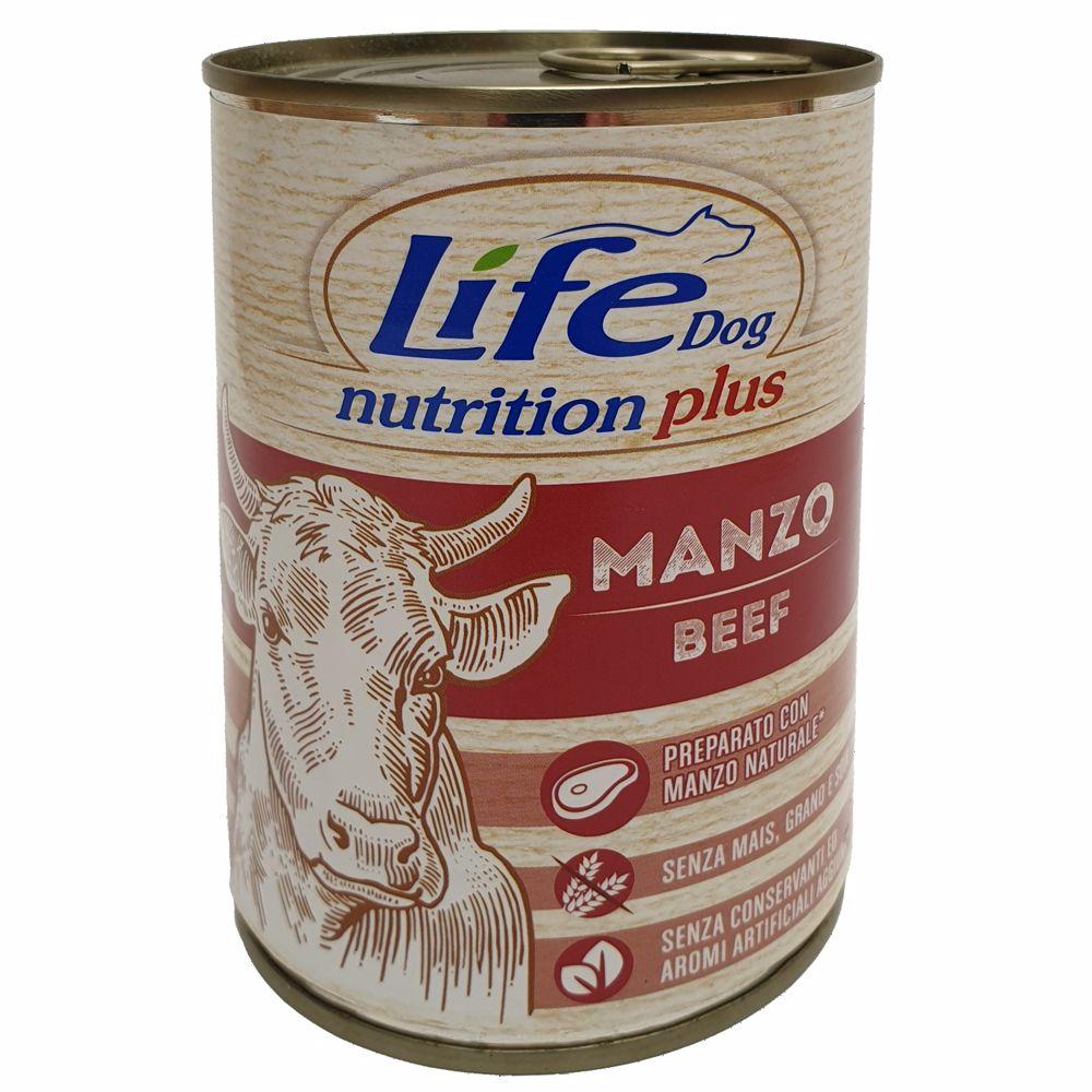 Lifedog beef chunks 400g-20031