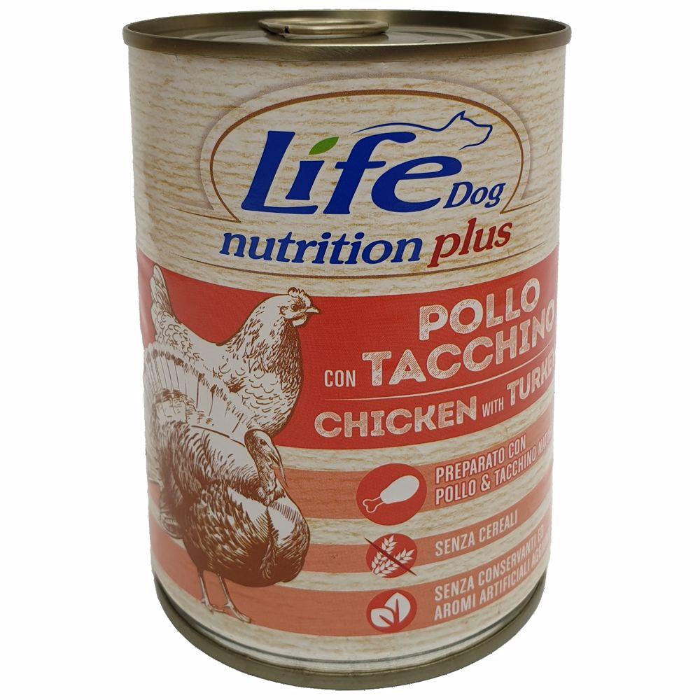 Lifedog chicken and turkey 400g-20035