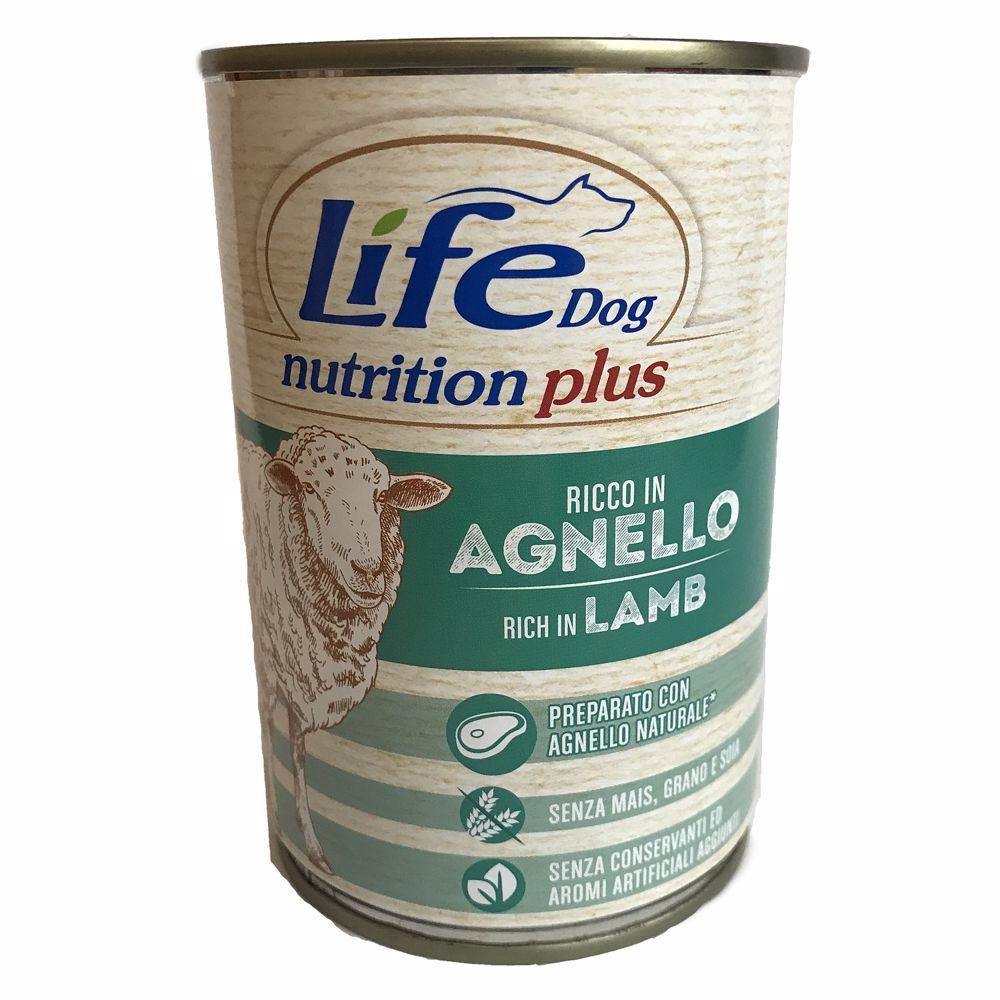 Lifedog lamb & rice 400g-20038